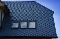 střešní okna + Prefa šablona